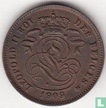 België 2 centimes 1909/05