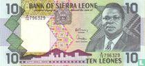 Sierra Leone 10 Leones 1988