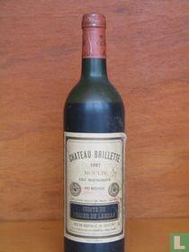 Chateau Brillette 1981