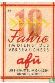 Afü matchcovers catalogue