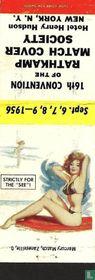 Pin up 50 ies matchcovers catalogue