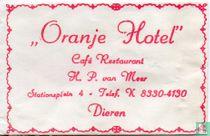 """Oranje Hotel"" Café Restaurant"