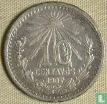 Mexico 10 centavos 1907