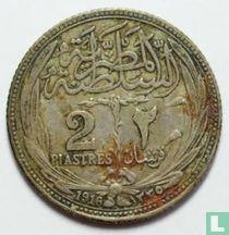 Egypte 2 piastres 1916 (jaar 1335)