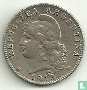Argentinië 20 centavos 1913