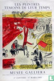 Marc Chagall Lithografische Affiche 1963