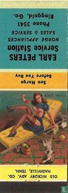 Pin up 40 ies knit-wit