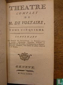Theatre complet de mr. de Voltaire 5