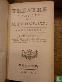 Theatre complet de mr. de Voltaire 2