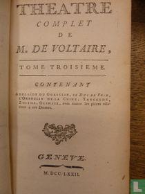 Theatre complet de mr. de Voltaire 3