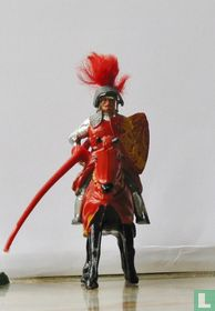 Sit Lancelot Mounted