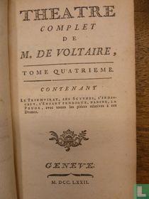 Theatre complet de mr. de Voltaire 4