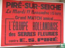 Voetbalwedstrijd Holland contre E.S. Piré Frankrijk 1969