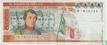 Mexico 5000 Pesos