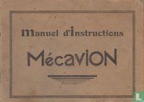 Manuel d'Instructions Mécavion