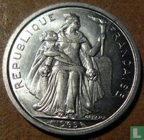 Frans-Polynesië 2 francs 1965