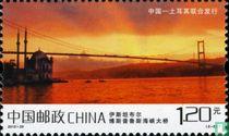 Taizhou und Bosporus-Brücke