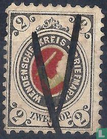 Kreis letter post