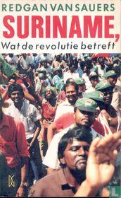 Suriname, Wat de revolutie betreft