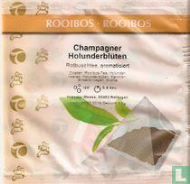 Champagner Holunderblüten