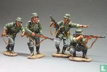 ATTACK ! (4 German soldiers)