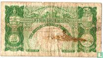 British Caribbean Territories 5 dollar 1951