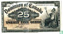 Canada, 25 cent 1900