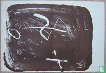 Antoni Tapies - Monotype, 1974