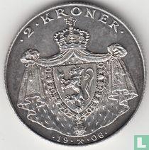 Noorwegen 2 Kroner 1906