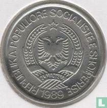 Albanie 2 leke 1989
