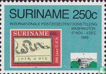 Postzegeltentoonstelling Washington