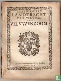 Gereformiert landtrecht van Veluwen und Veluwenzoom