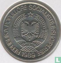"Albania 2 leke 1989 ""45th Anniversary of Liberation"""