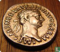 Romeinse Rijk, AR Denarius, 98-117 AD, Trajanus, Rome