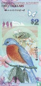 Bermuda 2 Dollars 2009