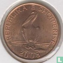 Albanië 1 lek 2008