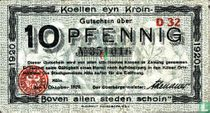 Köln 10 pfennig 10/01/1920