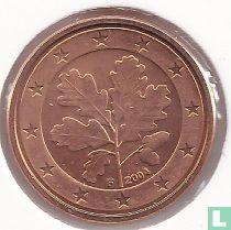 Duitsland 1 cent 2004 (F)