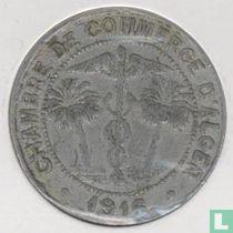 Algerije 10 centimes 1916 (aluminium)