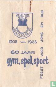 Wilhelmina   gym, spel, sport