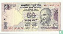 India 50 Rupees 2010