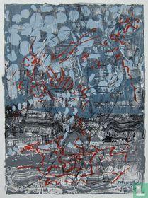 Jean-Paul Riopelle, Abstracte compositie, 1974