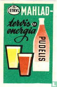 Mahlad - tervis energia  - Pudelis