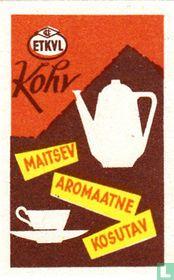 Kohv maitsev aromaatne kosutav