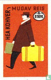 Hea kohver-mugav reis