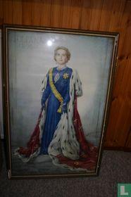 Prachtige reproductie Juliana 1948