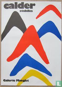 Alexander Calder - Stabiles, 1971