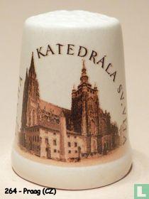 Praag (CZ) - Katedrale s.v. Vita