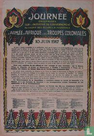 L'Armée d'Afrique et des troupes coloniale.