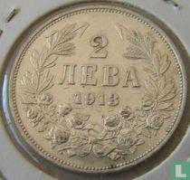 Bulgarije 2 leva 1913